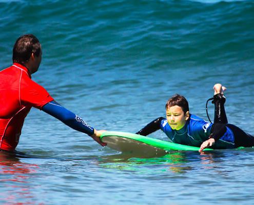 Clases de Surf Surfari Punta Rocas